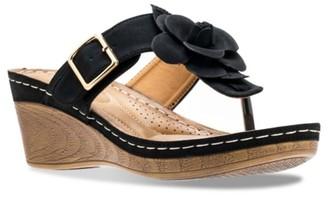 GC Shoes Flora Wedge Sandal