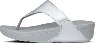 FitFlop Lulu Leather Toe-Post Sandals