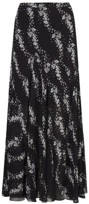 AllSaints Floral Primina Cultivar Midi Skirt
