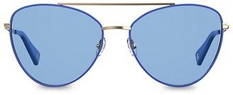 Moschino 59MM Aviator Sunglasses