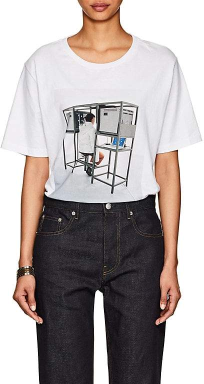 Off-White Byredo x Women's Unisex Graphic Jersey Slim T-Shirt