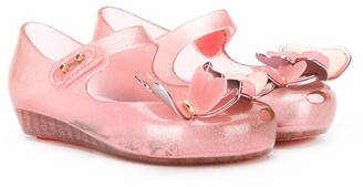 Mini Melissa Butterfly Ballerina Shoes
