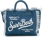 Mc2 Saint Barth Kids - denim 'Colette' beach bag - kids - Cotton - One Size