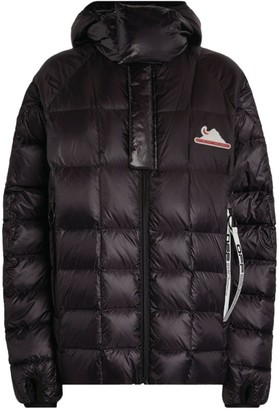 Off-White Hooded Packable Puffer Jacket