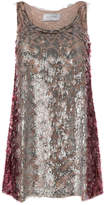 Valentino sequin mini dress