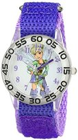 Disney Kids' W001677 Tinker Bell Analog Display Analog Quartz Purple Watch