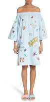Mira Mikati Women's Off The Shoulder Embroidered Dress