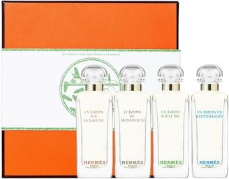 Hermes Jardin Collection Miniature Coffret Set