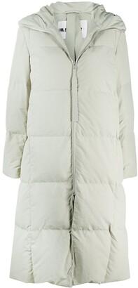 Jil Sander Hooded Padded Mid Coat