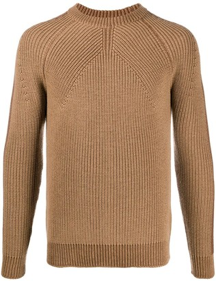 Roberto Collina Wool Knitted Long Sleeve Jumper
