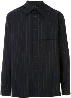 3.1 Phillip Lim Pinstriped Oversized Shirt