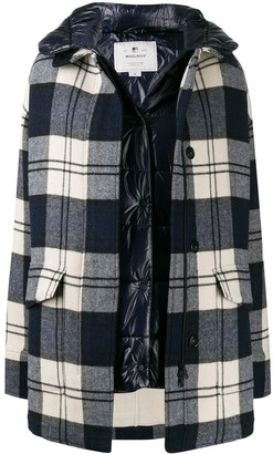 Woolrich Oversized Double-Layer Coat
