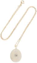 Cvc Stones Betsy 18-karat Gold, Stone And Diamond Necklace