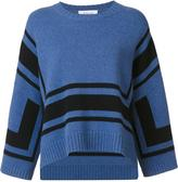 Derek Lam 10 Crosby shift striped sweater - women - Wool - XS