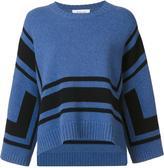 Derek Lam 10 Crosby shift striped sweater