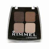 Rimmel Colour Rush Eye Shadow Quad, Smokey Brun by