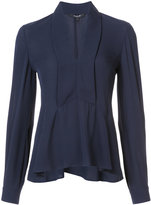 Derek Lam V-neck flared blouse - women - Silk - 36