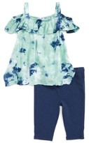 Splendid Infant Girl's Tie Dye Top & Leggings