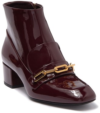 Burberry Chettle Leather Bootie