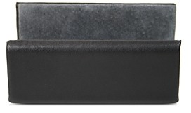 Royce New York Leather Business Card Holder Display