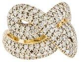 H.Stern 18K Diamond Celtic Dune Ring