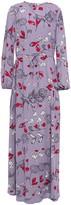 Diane von Furstenberg Janice Floral-print Crepe Maxi Dress