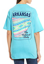 Royce Arkansas State Frame Graphic Tee