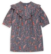 Bonpoint Little Girl's & Girl's Floral Cotton Dress