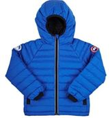 Canada Goose Men's Sherwood Down Channel-Quilted Coat-BLUE