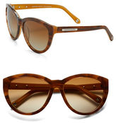 Andrew Marc 58mm Round Sunglasses