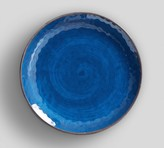 Pottery Barn Swirl Melamine Salad Plate - Turquoise