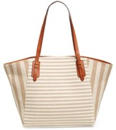 Sole Society Rooney Trapeze Tote - Brown