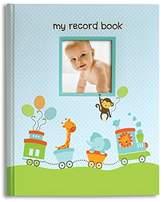 Pearhead Pear Head L'il Peach Baby Record Book Boy Blue Animal Train Scrapbook Photo Album by L'il Peach