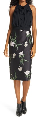 Ted Baker Sabbie Sleeveless Tie Neck Dress