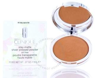 Clinique / Stay-matte Sheer Pressed Powder 05 Stay Spice .27 oz