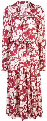 Alexis Ambrosia floral-print dress