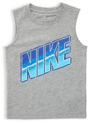 Nike Little Boy's Logo Muscle Tank