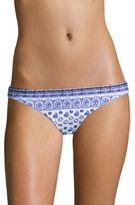 Shoshanna Batik-Printed Bikini Bottom