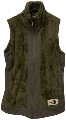 The North Face Green Faux fur Jackets