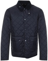 Barbour Gimbal Quilted Jacket Navy