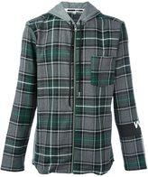 McQ by Alexander McQueen hooded check shirt