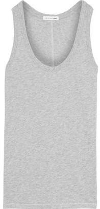 Rag & Bone Melange Pima Cotton-jersey Tank