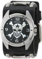 Nemesis Men's MIC906K Cross Bone Skull Watch