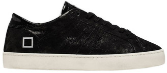 D.A.T.E Hill Low Stardust Black Sneaker