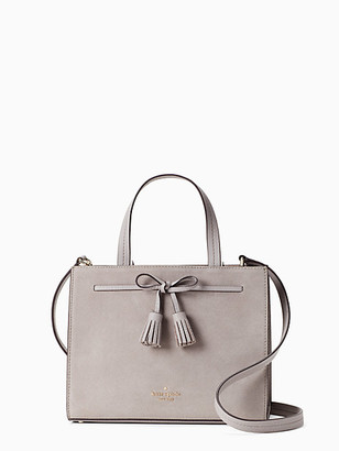 Kate Spade Hayes Suede Small Satchel