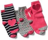 Gap Half crew socks (3-pack)