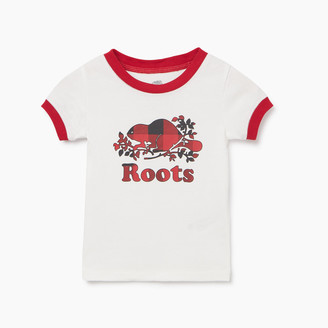 Roots Baby Plaid PJ Set