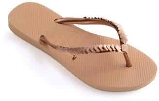 Havaianas Shell Slim Flip Flops