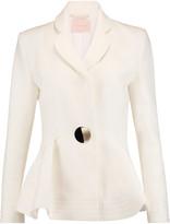 Roksanda Sienna wool-blend peplum blazer