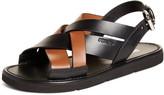 Prada Crisscross Slingback Sandal